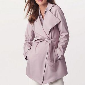 NWT Bernardo Lilac Rain Coat Sz large